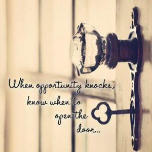 opportunity-knocks